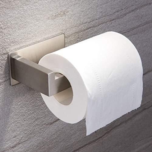 Yingge Toilettenpapierhalter ohne Bohren Klopapierhalter Selbstklebend Papierhalter Edelstahl für Badezimmer