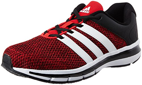 8. Adidas Men's Magnus 4.0 M Scarle, Ftwwht and Cblack Running Shoes
