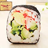 Doinbtoy Simulation Kreative Snacks Snack Kissen Kissen Plüschtier 42 * 38 cm Sushi Rolle