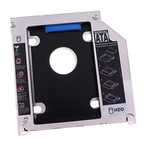Shiwaki Hard Drive Tray 2nd HDD Caddy 2.5 Inch SATA3.0 I II III For MacBook Pro PC