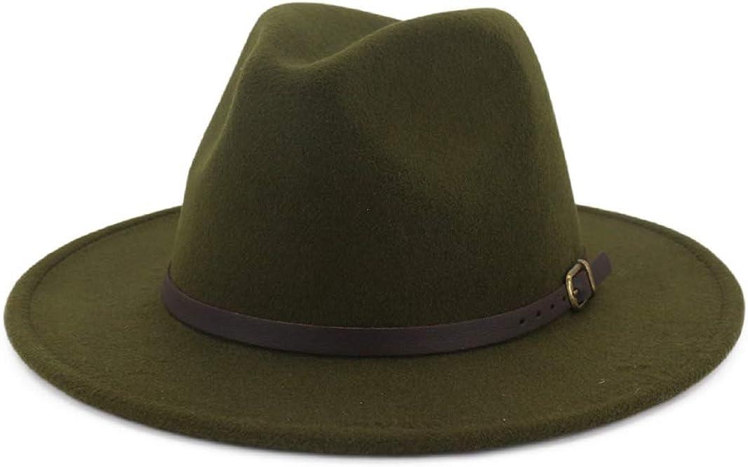 Fashion Fedora for Women Mens Bucket Hat Church Hats Elegant Sombreros Vintage Wide Brim Felt Panama Jazz Cap