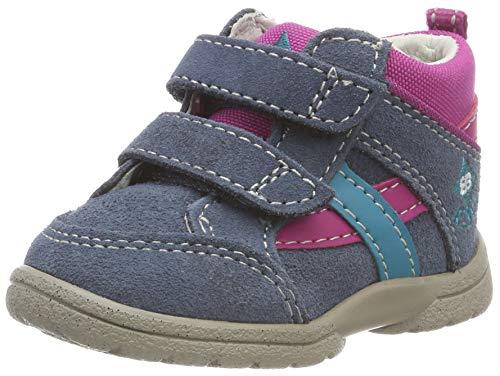 Brütting Spooky V Baby Mädchen Sneaker, Blau/ Pink/ Türkis, 24 EU