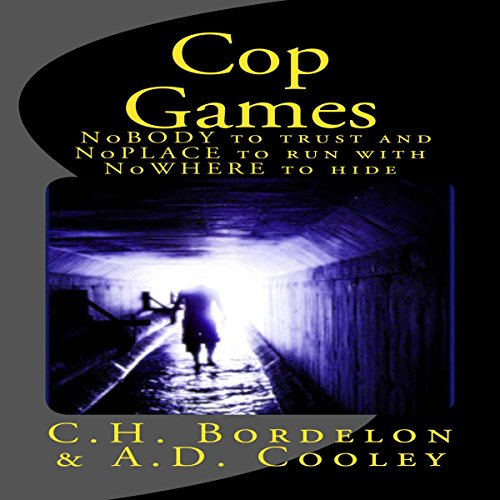 Cop Games audiobook cover art