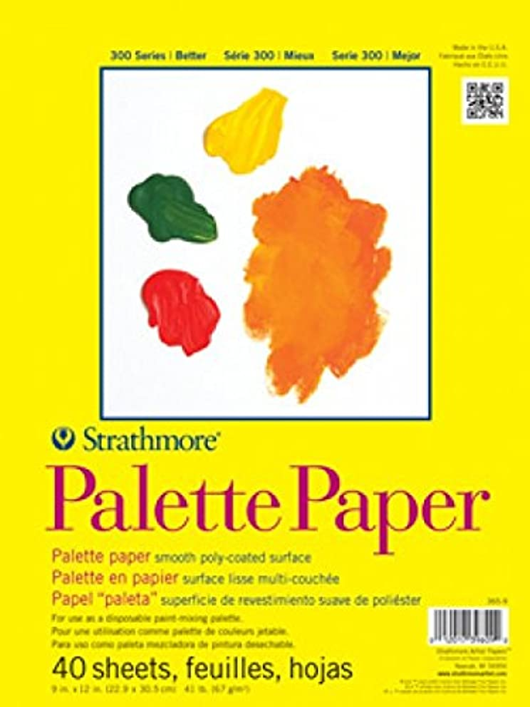 Strathmore 365-12 300 Series Paper STR-365-12 40 Sheet Disposable Palette, 12 by 16