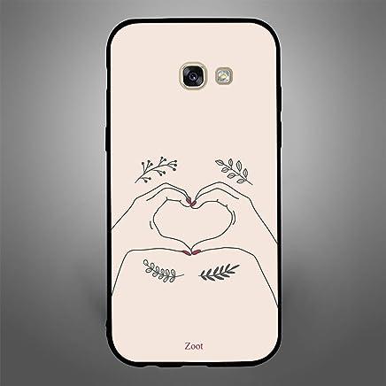 Samsung Galaxy A5 2017 Hand Heart