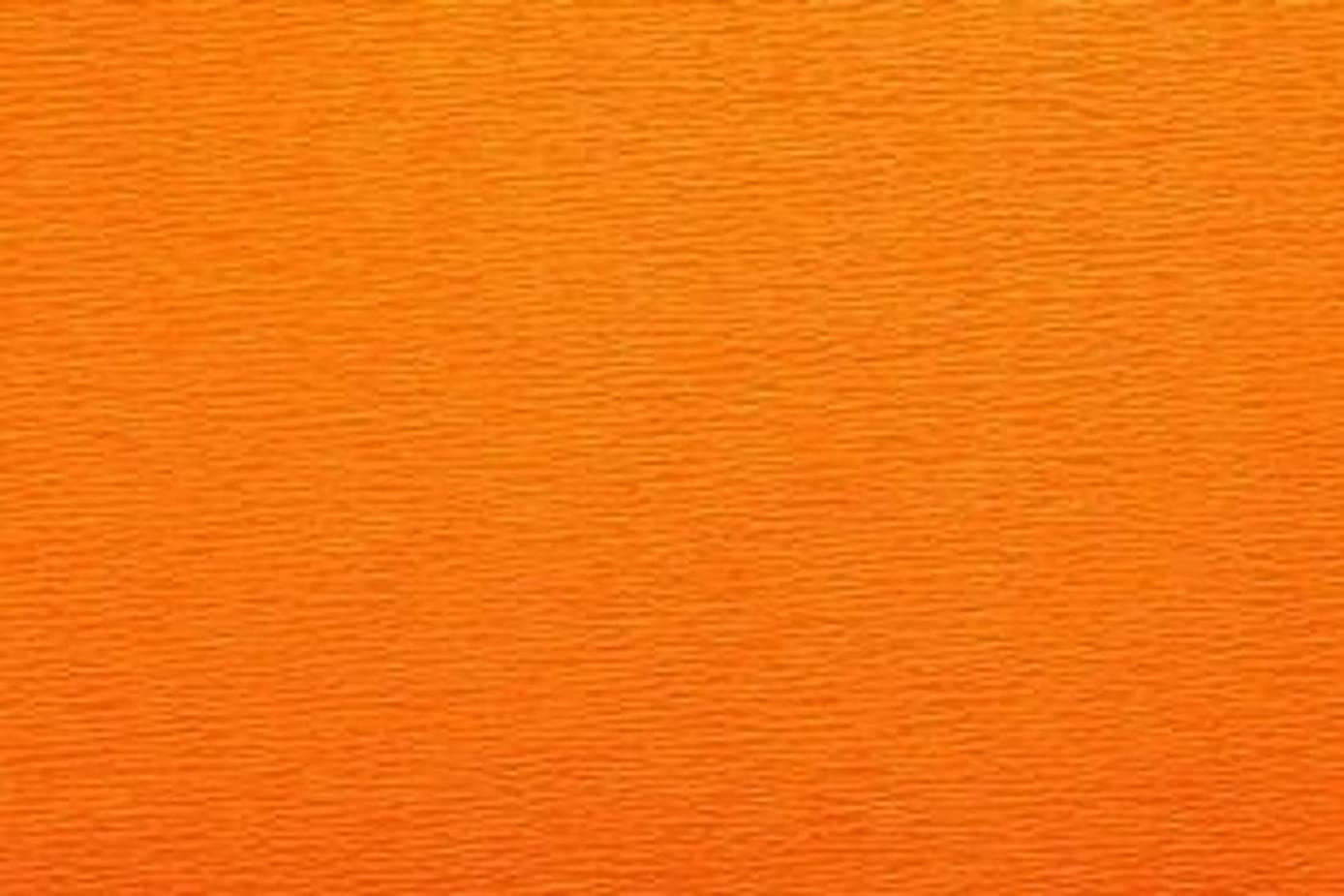 Crepe Paper Roll, Premium Italian Extra Fine 60 g, 13.3 sqft, Dark Orange
