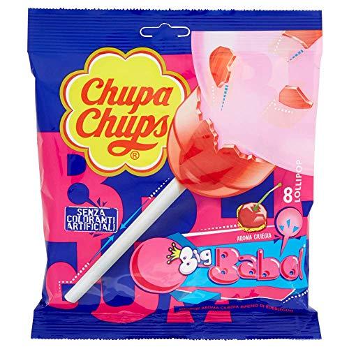 Chupa Chups Lollipop Bubblegum, 6 buste da 8 pezzi [48 pezzi]