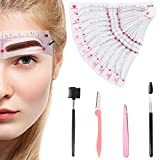 Best Eyebrow Stencils - Eyebrow Stencils Shaping Kit Reusable Eyebrow Template Review
