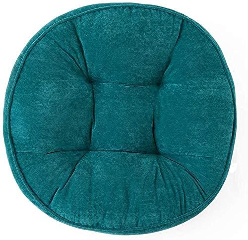 Seat Cushion For Chair Cojín de Suelo 52cm futón Habitación Sala Ronda Espesa y ampliada del Amortiguador de diámetro, (Color : B)