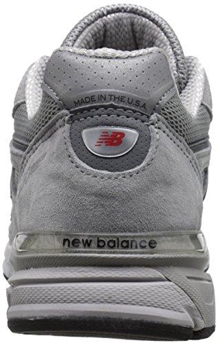 New Balance M990-bk4-d Chaussures de Sport pour Homme, Vert, 45 EU - Gris - Gris Castle Rock, 45 EU