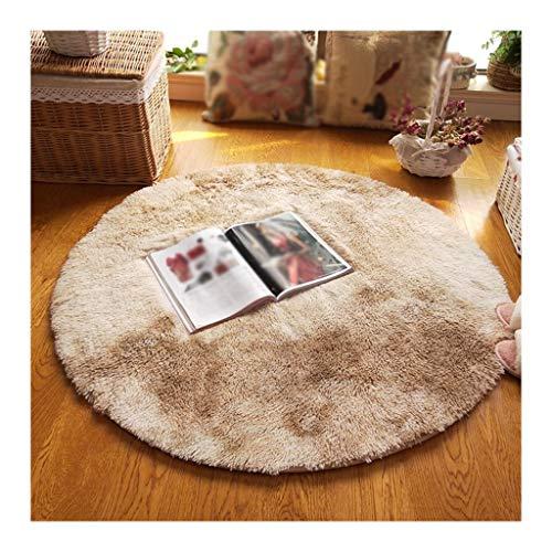 William 337 tapijt, pluche, modern, van suède, eenkleurig, modern, voor woonkamer, sofa, eettafel, slaapkamer, nachtkastje, vloerkleed, rond, karpetten