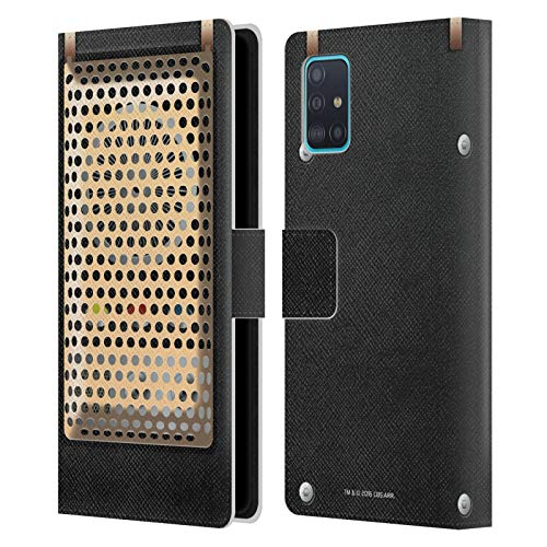 Head Case Designs Officially Licensed Star Trek Communicator Closed Gadgets Leather Book Wallet Case Cover Compatible with Samsung Galaxy A51 (2019)