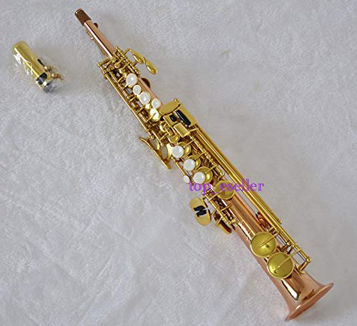 FidgetGear Professional Eb Sopranino SAX saxopohone Fosfor Messing Saxofon hoog E Nieuw
