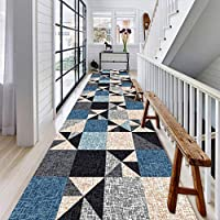 ラグ カーペット 現代の 廊下 洗える ランナーラグ 滑り止め エリアラグ キッチン 効用 ホール 長いです カーペットランナー ドア マットラグ 、2色 (Color : B, Size : 0.9x2m)