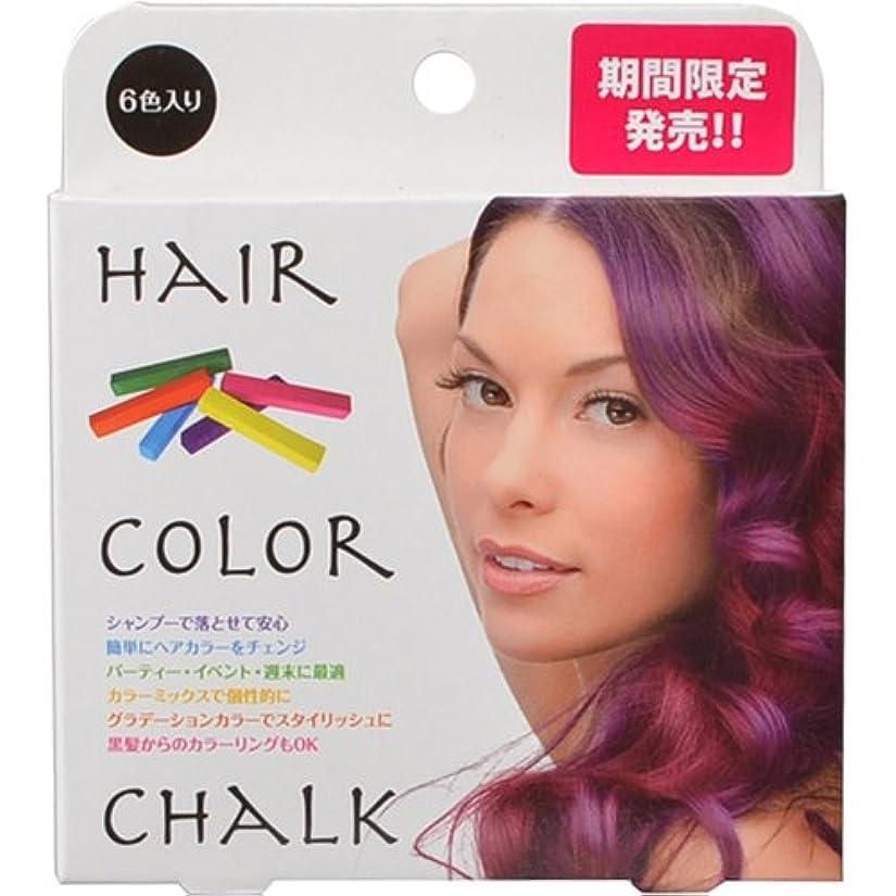 禁止する有益広告主BEAUTY NAILER ヘアカラーチョーク(6色入り)HCD-1