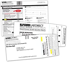 Ilford lab Prepaid Film Developing Mailer