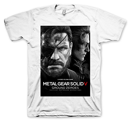 Metal Gear Solid 5 T-Shirt - Ground Zeroes Size XXL