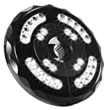 Lámpara para Sombrilla de Patio Luz Parasol con 28 LED 400 Lúmenes, Baterías Incorporadas de 4400mAh, Iluminación Nocturna para Sombrillas y Paraguas de Playa, Patio, Jardín y Piscina