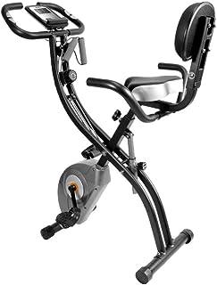 ATIVAFIT フィットネスバイク 折りたたみ式 静音 エクササイズバイク 心拍数計測 自宅バイク マグネット式 コンフォートバイク 8段階負荷調節…