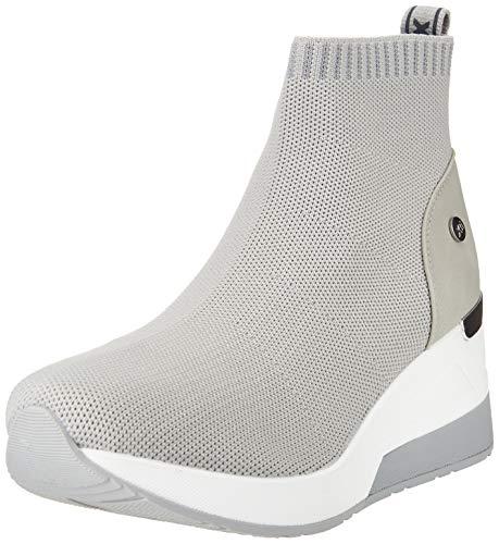 XTI 42571, Zapatillas Mujer, Gris, 39 EU