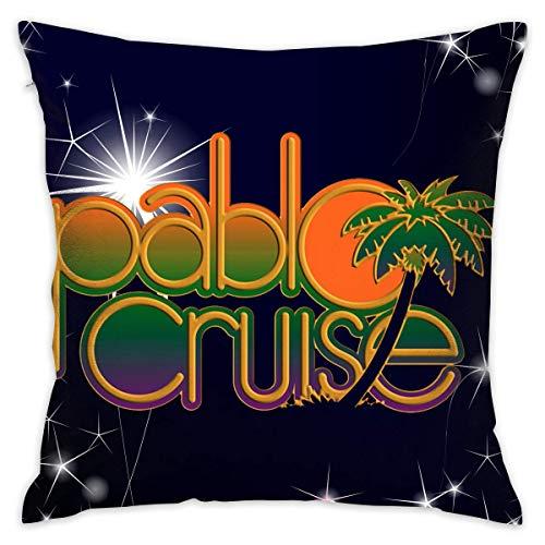 by Pablo Cruise Fashion Home Decor Cotton Cotton Sofa Cushion Covers Kissenbezüge 22x22Inch(55cmx55cm)