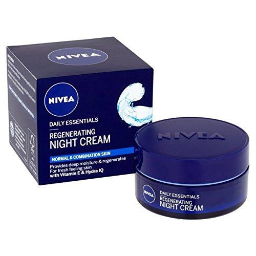 Regenerating Night Cream For Normal To Combination Skin Aqua Effect 50 Ml