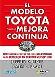 El modelo Toyota para la mejora continua: Conectando la estrategia y la excelencia operativa para lograr el mejor rendimiento