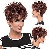 Parrucche Pixie Cut Per Capelli Umani Per Donne Parrucca Per Capelli Umani Duby Premium Parrucche Per Capelli Corti E Dritti Parrucche Per Taglio Femminile Parrucche