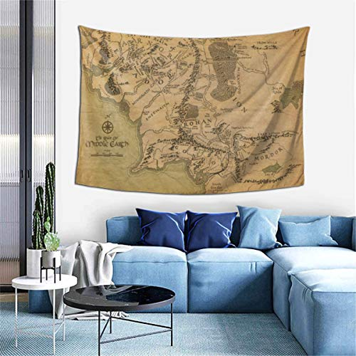 SJPillowcover Lord Rings Decorative Tapestry 60 X 40 Inches, Living Room, Bedroom Decorative Blanket