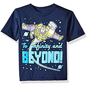 ディズニー ボーイズ 幼児 トイストーリー バズ ライトイヤー インフィニティ&ビヨンド 半袖Tシャツ US サイズ: 5T カラー: ブルー