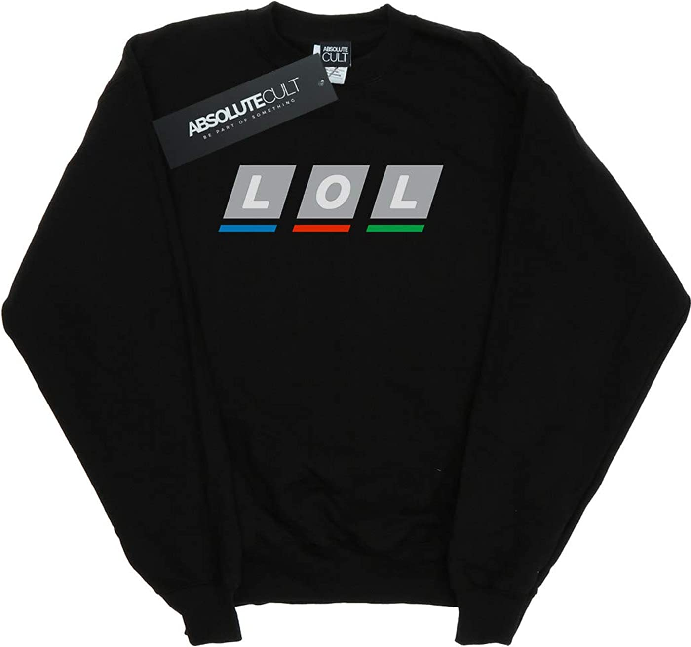 ABSOLUTECULT Drewbacca Girls LOL Broadcasting Sweatshirt
