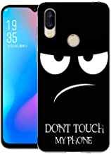 UMIDIGI Power Case, CaseExpert Pattern Soft Slim Gel Silicone TPU Back Cover Case for UMIDIGI Power Don't Touch My Phone 20190604AS-98U36