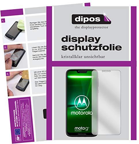dipos I 6X Pellicola Protettiva Compatibile con Motorola Moto G7 Power Pellicola di Protezione Cristallo
