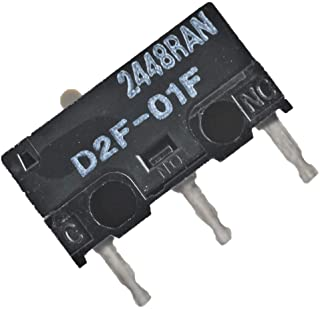 Pack of 4 OMRON D2F-01F Microswitch SPDT Subminiature Compatible Mouse Switch