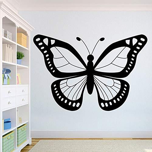 Quszpm Schmetterling schöne Wandtattoo Tier Home Interior Wandbild Home Decoration 57X85CM