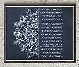 Toll2452 Rudyard Kipling If Poem Mandala Art Poesie Poster