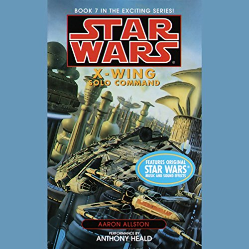 Star Wars: The X-Wing Series, Volume 7: Solo Command                   By:                                                                                                                                 Aaron Allston                               Narrated by:                                                                                                                                 Anthony Heald                      Length: 3 hrs and 2 mins     157 ratings     Overall 4.6