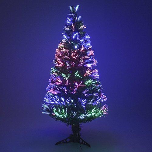 Albero di Natale verde 120cm di fibra ottica Ref. 200–453b