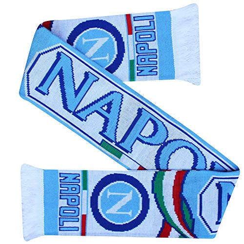 SSC Napoli Serie A Football Crest Fans Souvenir Scarf 100 Acrylic