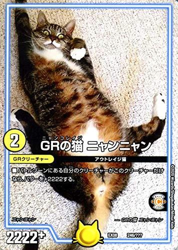 デュエルマスターズ GRの猫 ニャンニャン 謎のブラックボックスパック(DMEX08) BBP | デュエマ 光文明 GRクリーチャー