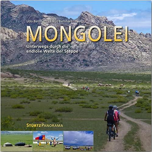 MONGOLEI - Unterwegs durch die endlose Weite der Steppe - Ein hochwertiger Fotoband mit über 230 Bildern auf 200 Seiten im quadratischen Großformat - ... STÜRTZ Verlag [Gebundene Ausgabe] (Panorama)