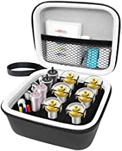 Portable Organizer Holder Compatible with Cricut Maker Blades & Housing, QuickSwap Tip & Explore DeepCut Blade, Storage Bag for Cricut Tool Accessories, Black Carrying Case with Lanyard