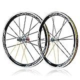 BIKERISK Bicycle 20' BMX mag Ruedas Delantera/Trasera Ligera Carreras de Accesorios Especiales de actualización de Marca Final dedicado múltiples Colores Disponibles,B,1