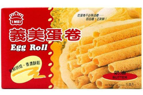 I Mei Egg Roll 60g(pack of 3)