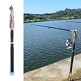 Lixada 2.1m / 2.4m / 2.7m / 3.0m Automatic Fishing Rod Adjustable Telescopic Rod Pole Device Sea...
