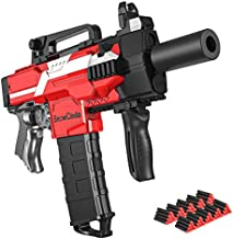 Toy Guns for Nerf Guns Bullet, Electric Toy Guns for Boys with 100 Pcs Refill Darts, 3 Modes Burst Toy Foam Blasters Guns Toys for 6-10 Year Old Boys