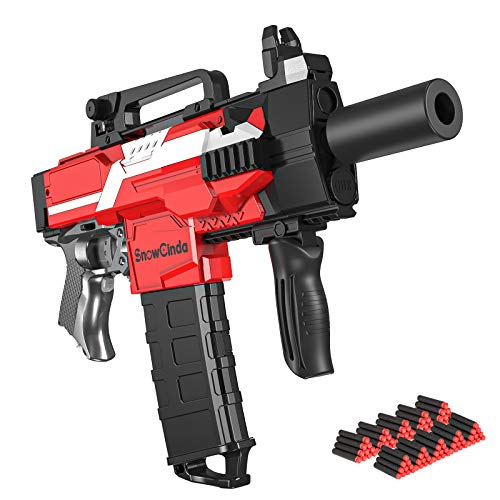SnowCinda Toy Guns for Nerf Guns Bullet Electric Toy Guns for Boys with 100 Pcs Refill Darts 3 Modes Burst Toy Foam Blasters Guns Toys for 510 Year Old Boys  MP7A1