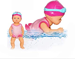 Swimming Doll It is a Fun Bathing Toy, Pool Toy, it can Swim in Your Bathtub