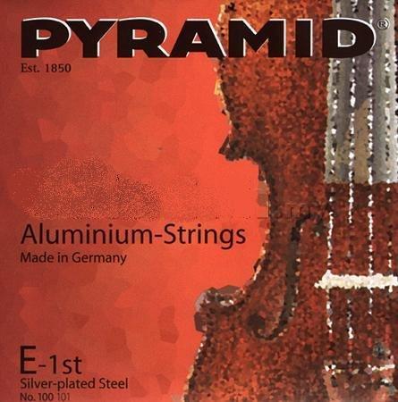 CUERDAS VIOLIN - Pyramid (Aluminium 100100) (Juego Completo) Medium Violin 4/4
