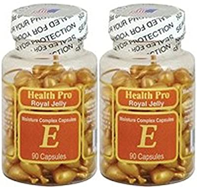 NU-Health Vitamin E Skin Oil Royal Jelly, 90 Softgels (Pack of 2)